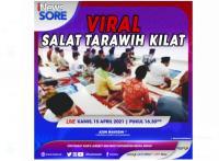 Viral! Salat Tarawih Kilat, Apa Kata MUI? Simak Selengkapnya di iNews Sore Kamis Pukul 16.30 WIB