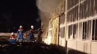 Gudang Logistik PT Pertamina Rantau Ludes Terbakar