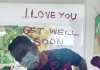 Tulis <i>I Love You di Kaca</i>, Begini Romantisnya Ridwan Kamil ke Istri yang Lagi Isolasi Mandiri