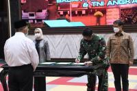 KSAD, Menkes dan Kepala BPOM Teken Nota Kesepahaman Penelitian Sel Dendritik