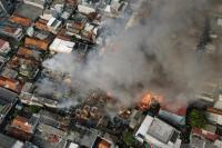 Kebakaran Tamansari Hanguskan 112 Rumah