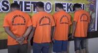 4 Pelaku Ganjal ATM Ditangkap Polisi saat Beraksi di Bekasi