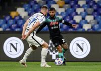 Napoli Ungguli Inter Milan 1-0 di Babak Pertama