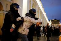Polisi Rusia Tangkap Hampir 1.500 Orang dalam Protes Terkait Mogok Makan Navalny