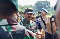 Naiki KRI Soeharso 990, Panglima TNI dan KSAL Pantau Langsung Pencarian KRI Nanggala 402