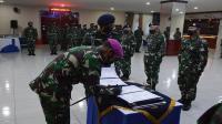 Danlantamal Pimpin Serah Terima Lima Jabatan Struktural Lantamal III Jakarta