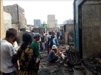 Korban Kebakaran Taman Sari Terpaksa Ramadhan di Pengungsian