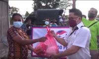 Gerkindo Bagikan Ribuan Paket Sembako dan Trauma Healing untuk Korban Badai Seroja NTT