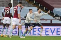 Main dengan 10 Pemain, Man City Unggul Atas Aston Villa di Babak Pertama