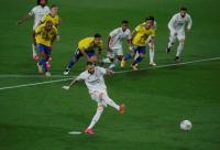 Babak Pertama Usai, Real Madrid Gunduli Cadiz 3 Gol Tanpa Balas