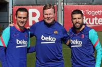 Usai Antar Barcelona Juara Copa del Rey, Koeman Fokus Buru Trofi Liga Spanyol
