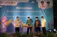 Resmikan Creative Center di Cirebon, Ridwan Kamil: Diinvestasikan untuk Kemajuan Generasi Muda!