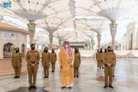 99 Personel Keamanan Wanita Dikerahkan untuk Layani Jamaah Selama Ramadhan di Masjid Nabawi