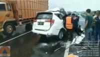 Tragis! Detik-Detik Kecelakaan Maut di Tol Kayu Agung Palembang