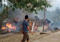 Kebakaran Ponpes di Enrekang Sulsel, Asrama Putri Ludes Terbakar