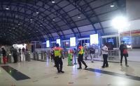 Stasiun Palmerah Lenggang Usai Diberlakukan Rekayasa Stasiun Tanah Abang