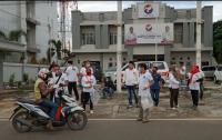 Berkah Ramadan, DPW Partai Perindo Jambi Bagikan Ratusan Nasi Kotak