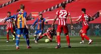 Skor Kacamata Hiasi Laga Barcelona vs Atletico Madrid di Babak Pertama