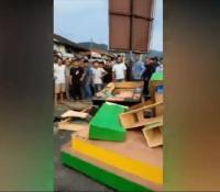 Menolak Tutup Saat Ramadhan, Lokasi Judi Tembak Ikan Diobrak-abrik Pemuda Desa