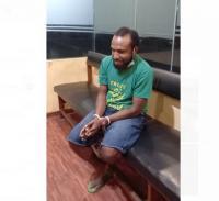Tangan Terikat, Ini Penampakan Viktor Yeimo Dalang Kerusuhan Papua Berdarah