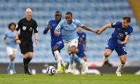 Sterling Bawa Man City Unggul 1-0 atas Chelsea di Babak Pertama
