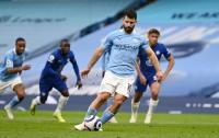 Gagal Eksekusi Penalti di Laga Kontra Chelsea, Aguero Minta Maaf