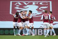 Aston Villa Unggul 1-0 atas Man United pada Babak Pertama