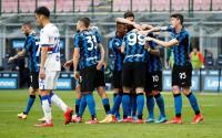 Hujan Gol, Inter Milan Gilas Sampdoria 5-1