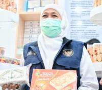 Heboh Bipang Ambawang, Gubernur Khofifah 'Endorse' Bipang Jangkar