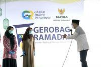 Gerobag Ramadan, Ridwan Kamil Sebut Berbagi Dapat Berikan Kebahagiaan dengan Sesama
