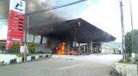 SPBU di Manggarai Terbakar, Asap Pekat Membubung Tinggi