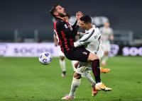 AC Milan Ungguli Juventus 1-0 di Babak Pertama