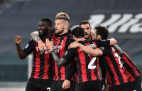 Menang 3-0, AC Milan Tendang Juventus Keluar dari 4 Besar