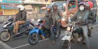 3 Kali Diputar Balik, Pemudik Motor Pilih Jalur Tikus di Cirebon