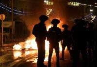 Bentrokan di Yerusalem, Pohon Terbakar di Kompleks Masjid Al-Aqsa