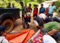 7 Orang Tewas Tertimbun Longsor Tambang Emas di Solok Selatan