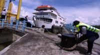 Polisi Amankan Mobil Pick Up Membawa Pemudik di Pelabuhan Merak