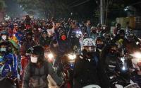 Polisi Putar Balik Pemudik di Perbatasan Garut