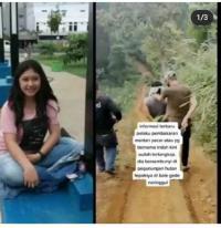 Dramatis! Pelaku Pembakaran Wanita Cantik Ditangkap di Hutan Ciwidey