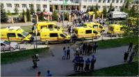 7 Orang Tewas dalam Penembakan di Sekolah Rusia