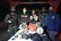 TNI dan Bea Cukai Gagalkan Upaya Penyelundupan Ganja di Perbatasan Papua Nugini