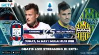 Saksikan Live Streaming Crotone vs Hellas Verona di RCTI+