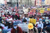 AS Beri Sanksi 16 Orang Rezim Militer Myanmar Terkait Kudeta, Properti dan Harta Kepemilikan Diblokir