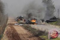 Balas Tembakan Artileri, Israel Lancarkan Serangan ke Lebanon