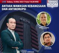 Berantas Korupsi Terganjal Wawasan Kebangsaan, Selengkapnya di iNews Room Selasa Pukul 18.00 WIB