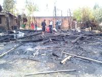 Gara-Gara Petasan Satu Rumah Kebakaran Hingga Rata dengan Tanah