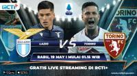 Saksikan Live Streaming Lazio vs Torino di RCTI+