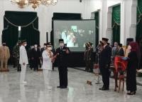 Lantik Kepala Daerah, Ridwan Kamil: Jangan Jadi Pemimpin Jadul!