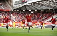 Gol Geledek Cavani Bawa Man United Unggul 1-0 atas Fulham di Babak Pertama