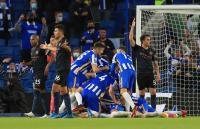 Kena Comeback, Man City Dikalahkan Brighton 2-3